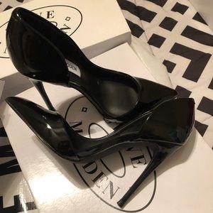 Black patent Toe sexy heels